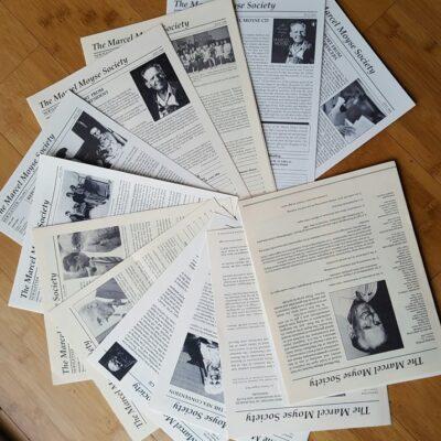 Newsletters fanned photo